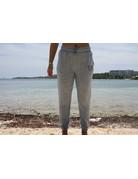Ocean Surfari Ladies Hacci Front Tie Jogger Blue
