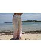 Ocean Drive Fashion Pant Tri Color Ombre Tie Dye