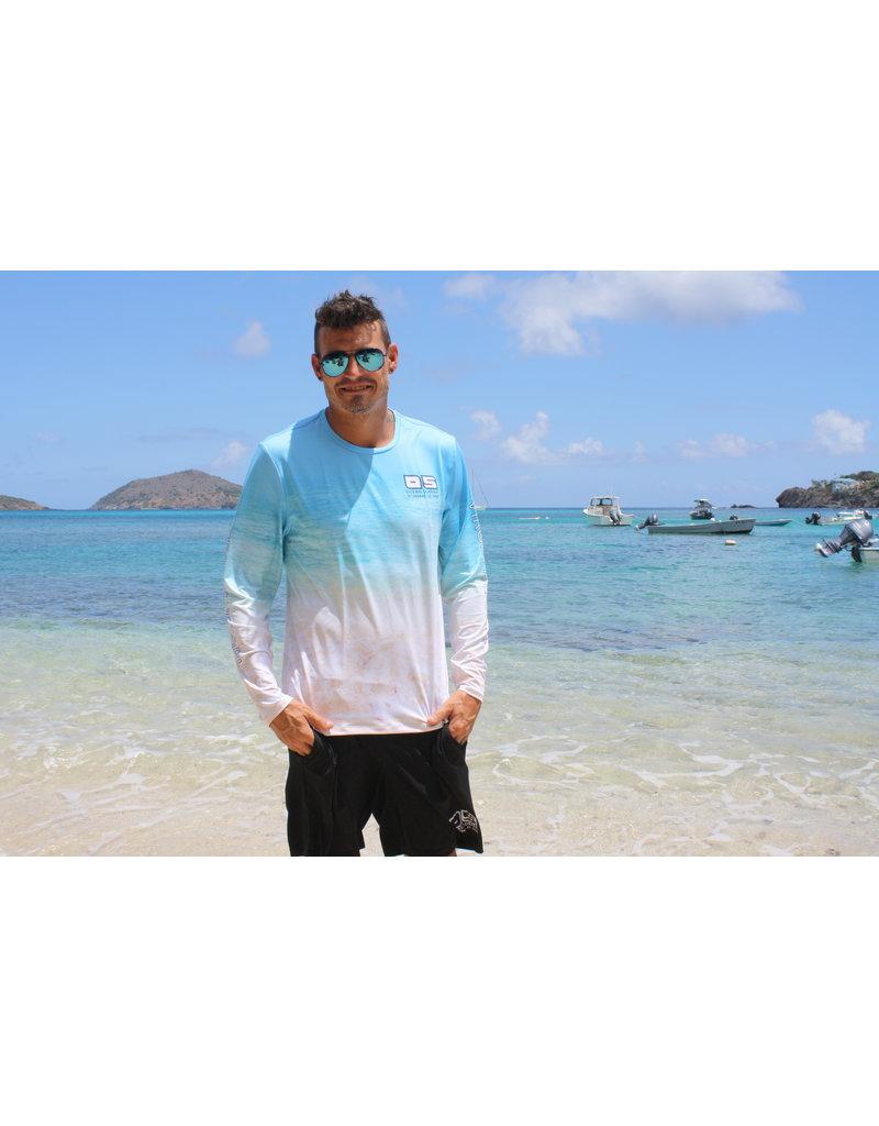 Ocean Surfari OS SPF 50+ Performance Men's LS Beach