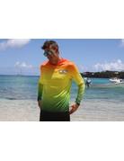 Ocean Surfari OS SPF 50+ Performance Men's Hoodie Rasta