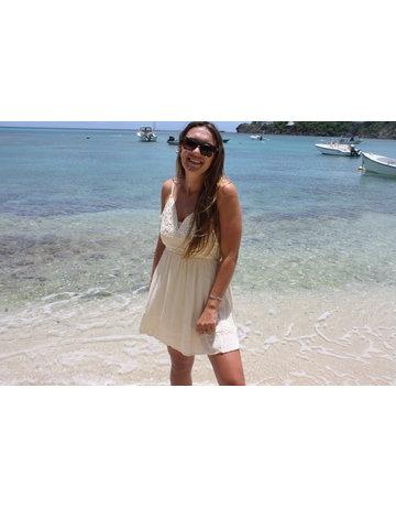 Ocean Drive Fashion Mini Dress Soft Natural