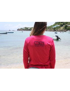 OS SPF50+ Performance Lad LS Turtle Bliss Pink Raspberry