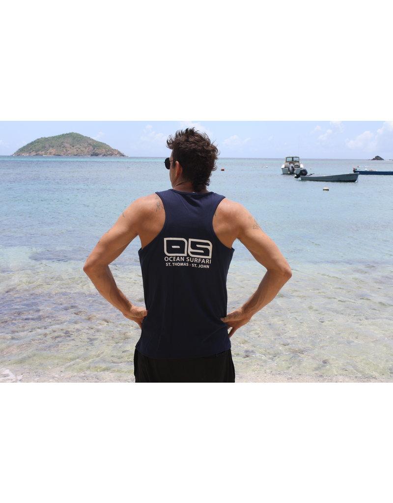 Ocean Surfari Men's Tank MS20 Navy