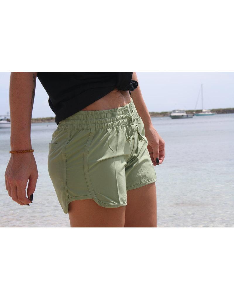 Raya Sun RS Contemporary Multi Stitch Short Olive