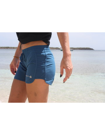 Raya Sun RS Contemporary Multi Stitch Short Indigo