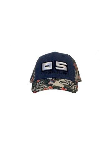 Ocean Surfari OS Hat St. Thomas Navy