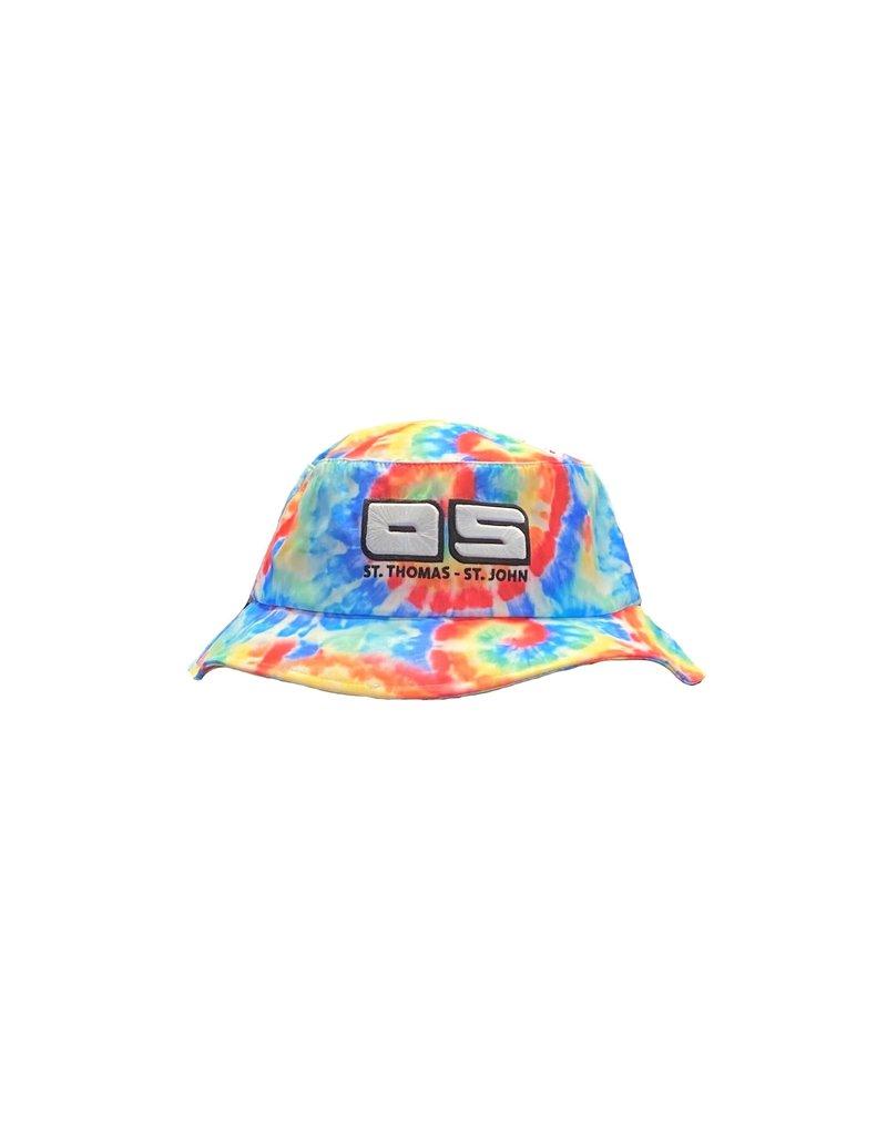 Ocean Surfari OS Full Tie Dye Bucket Hat