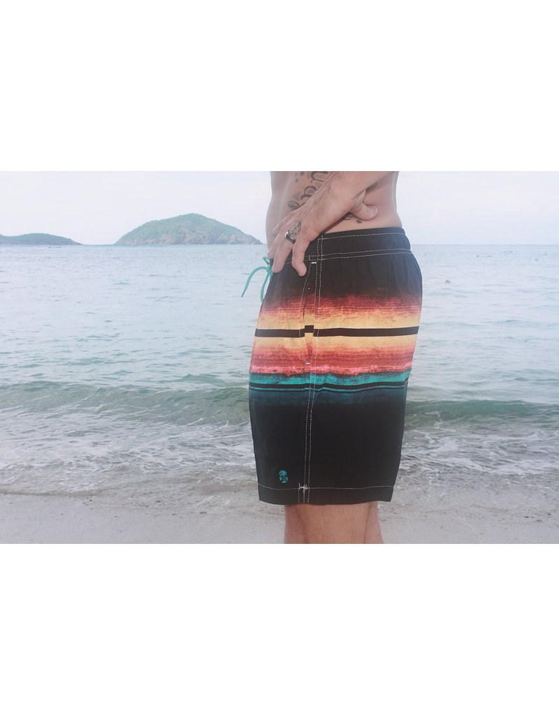 RS Surf RS Surf - Men's Volley Board Short - Ombre Stripe