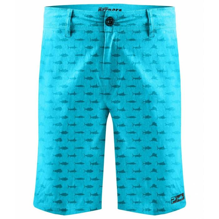Pelagic Deep Sea Hybrid* Aqua Shorts