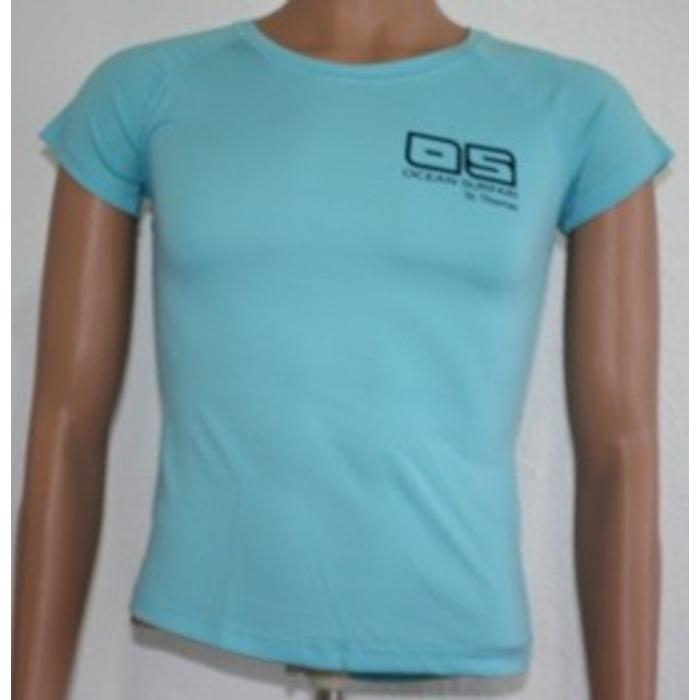 OS SPF 50+ Performance Ladies SS Water Blue