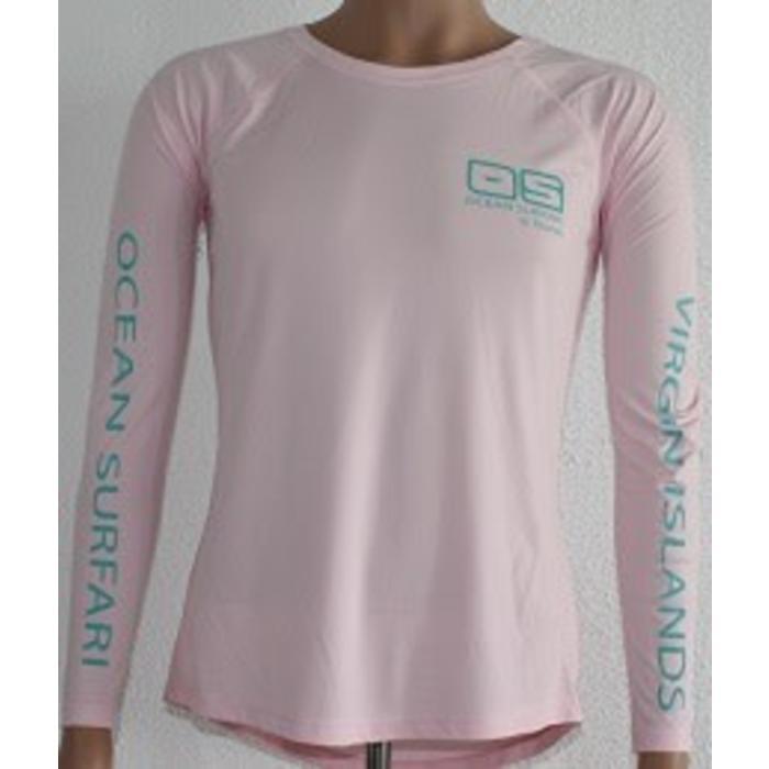 Vapor Ladies Dry-Fit Long Sleeve Pink