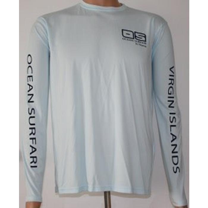 Vapor Men's Dry-Fit Long Sleeve Arctic Blue