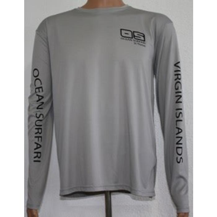 Vapor Men's Dry-Fit Long Sleeve Athletic Grey