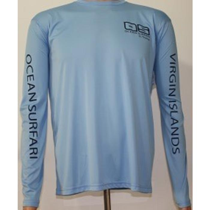 Vapor Men's Dry-Fit LS Col Blue