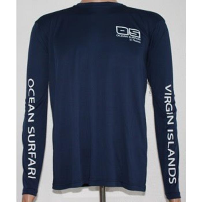 Vapor Men's Dry-Fit LS Navy