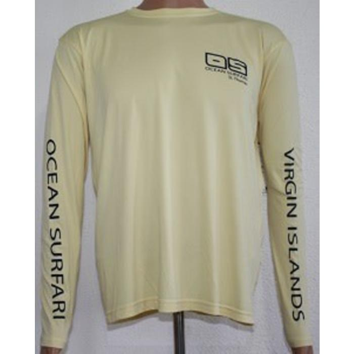 Vapor Men's Dry-Fit Long Sleeve Pale Yellow