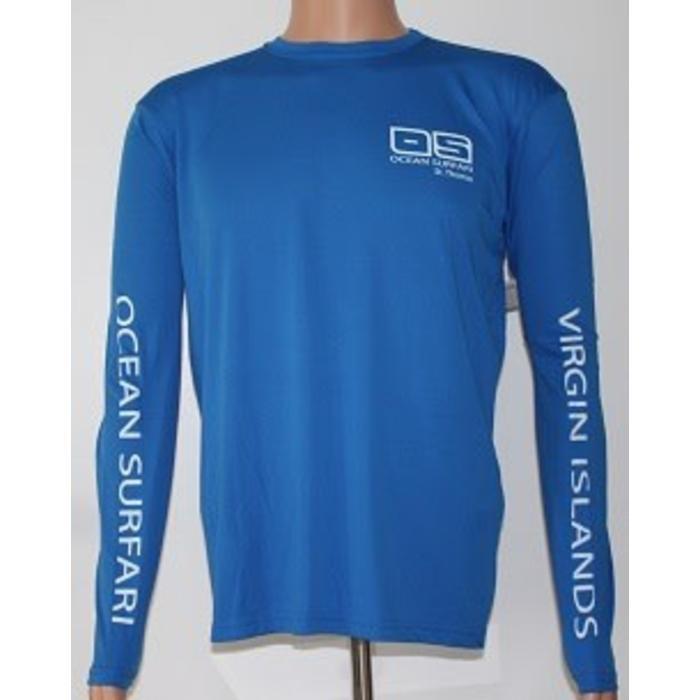 Vapor Men's Dry-Fit LS Royal Blue