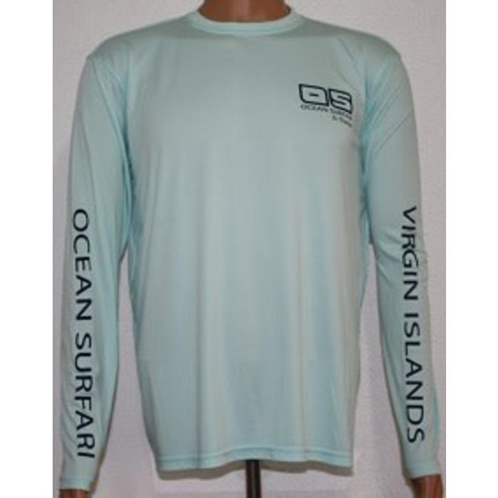 Vapor Men's Dry-Fit LS Seagrass