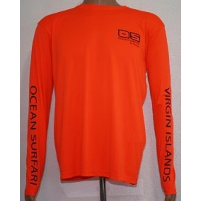 Vapor Men's Dry-Fit LS Sft Orange