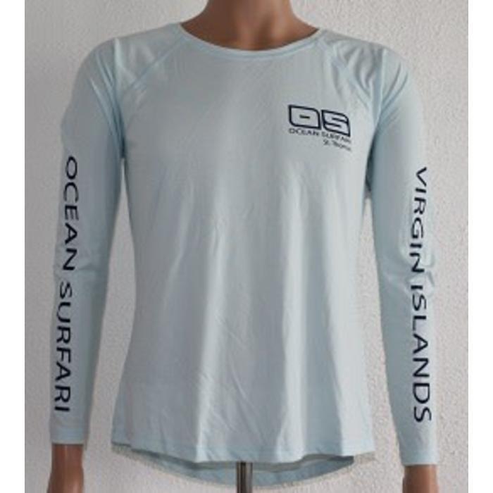 Vapor Ladies Dry-Fit Long Sleeve Athletic Blue