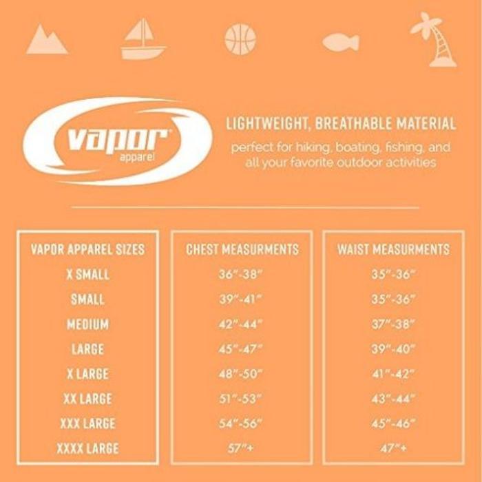 Vapor Men's Dry-Fit Long Sleeve Citrus