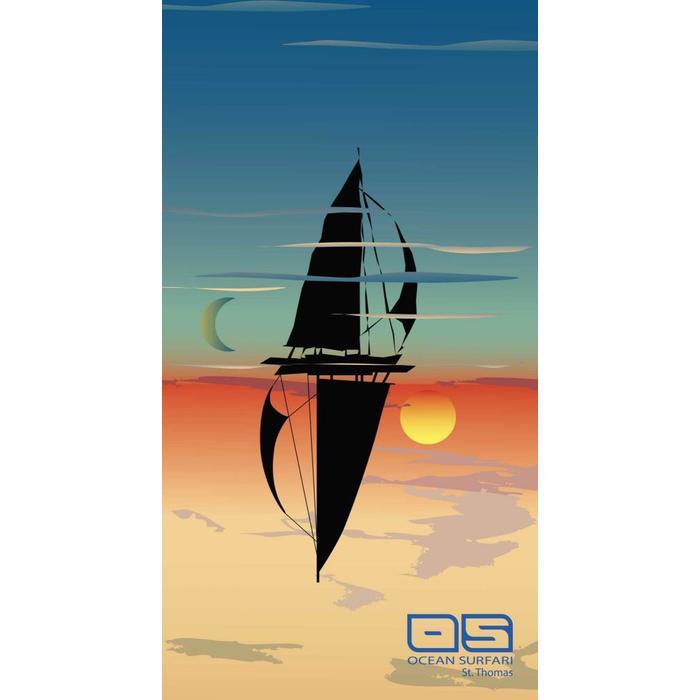 Beach Towel Sail