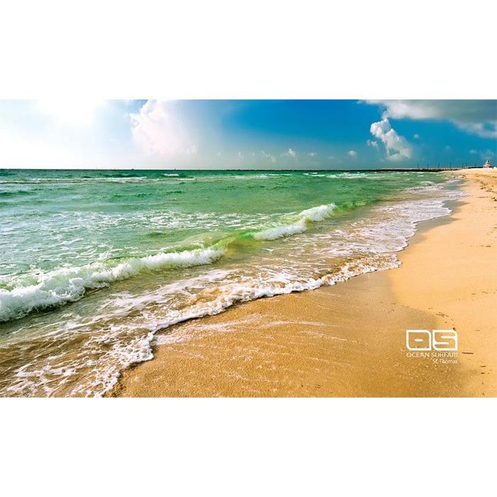 Ocean Surfari Beach Towel Sand & Sea