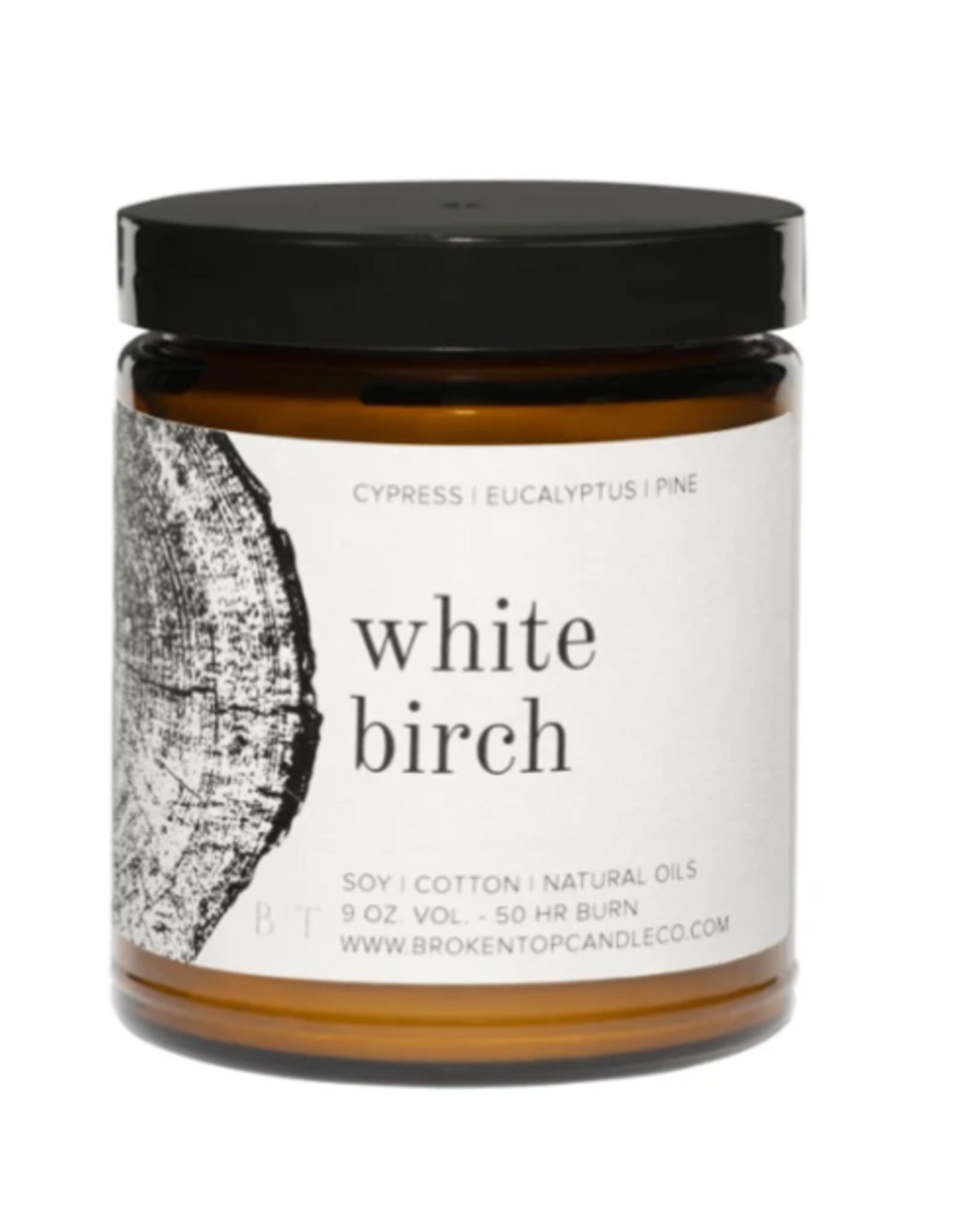 Candle - 9 oz. - White Birch