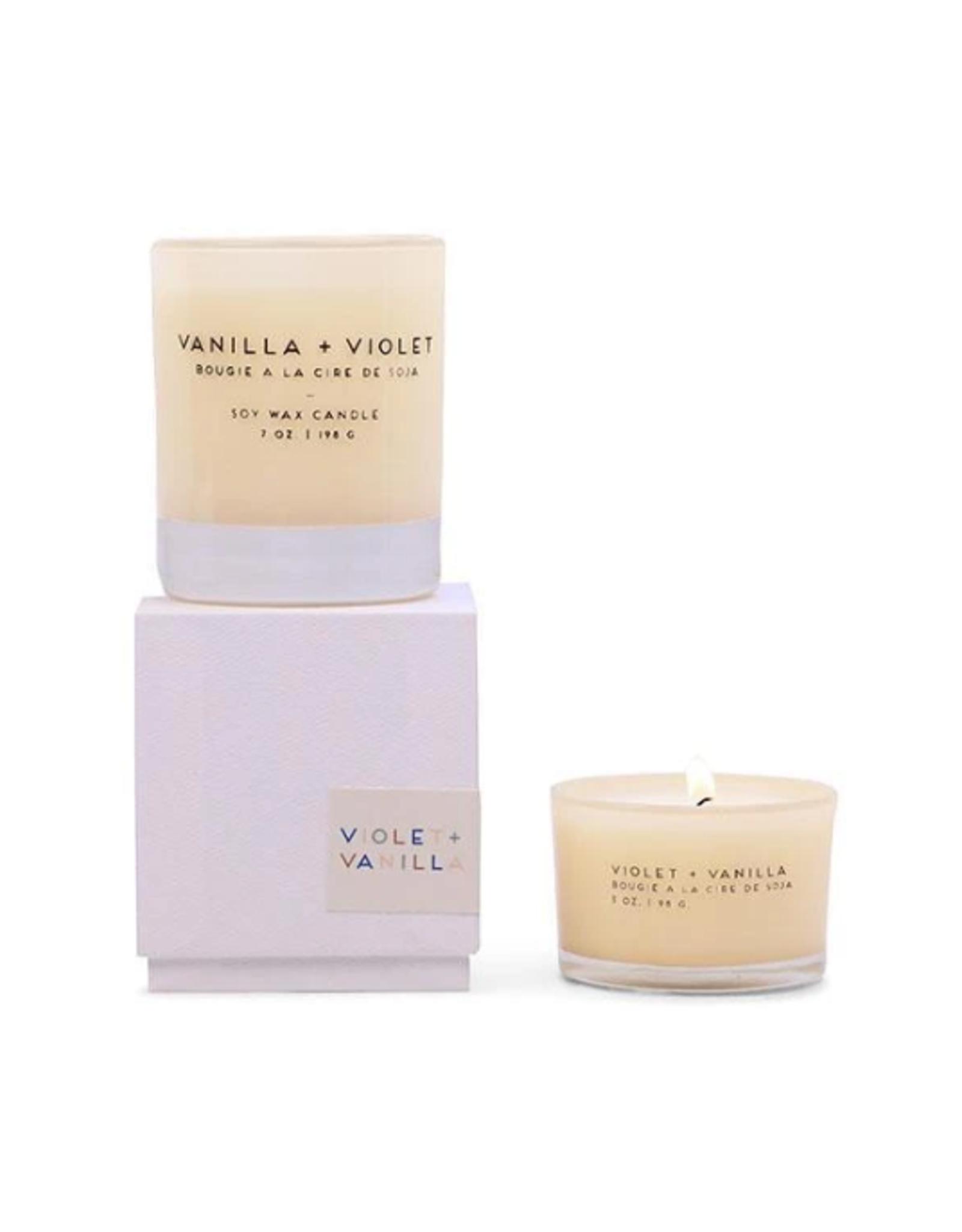 Statement 3 oz. Ivory Violet & Vanilla Glass