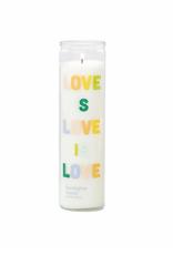 Love is Love - Eucalyptus Santal Prayer Candle