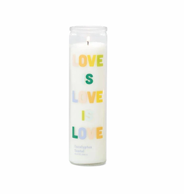 Love is Love - Eucalyptus Santal Prayer Candle