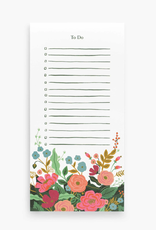 To Do List Floral Vines