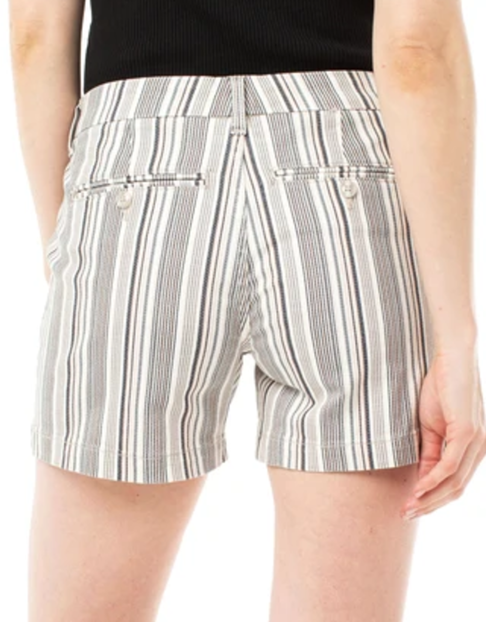 Striped Trouser Shorts