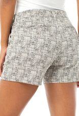 Abstract Design Trouser Shorts