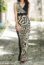Maxi Color Block Dress