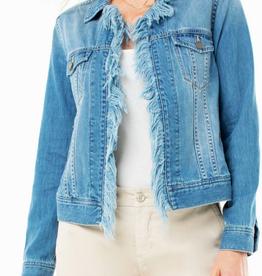 Fray Placket Jacket