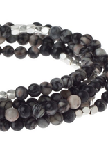 Scout Wrap Black Network Agate