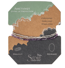 Scout Delicate Wrap Amethyst