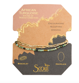 Scout Delicate Wrap African Turquoise