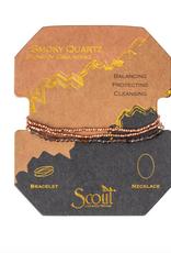 Scout Delicate Wrap Smoky Quartz