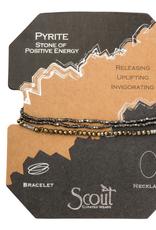 Scout Delicate Wrap Pyrite
