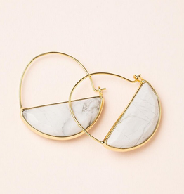 Scout Prism Hoops Howlite