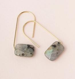 Scout Floating Stone Earrings Labradorite