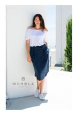 Tie Waist Tencel Skirt