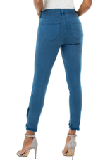 Abby Cropped Fringed Jeans