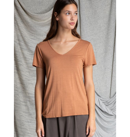 V-Neck Slim Tee - 2 Colors