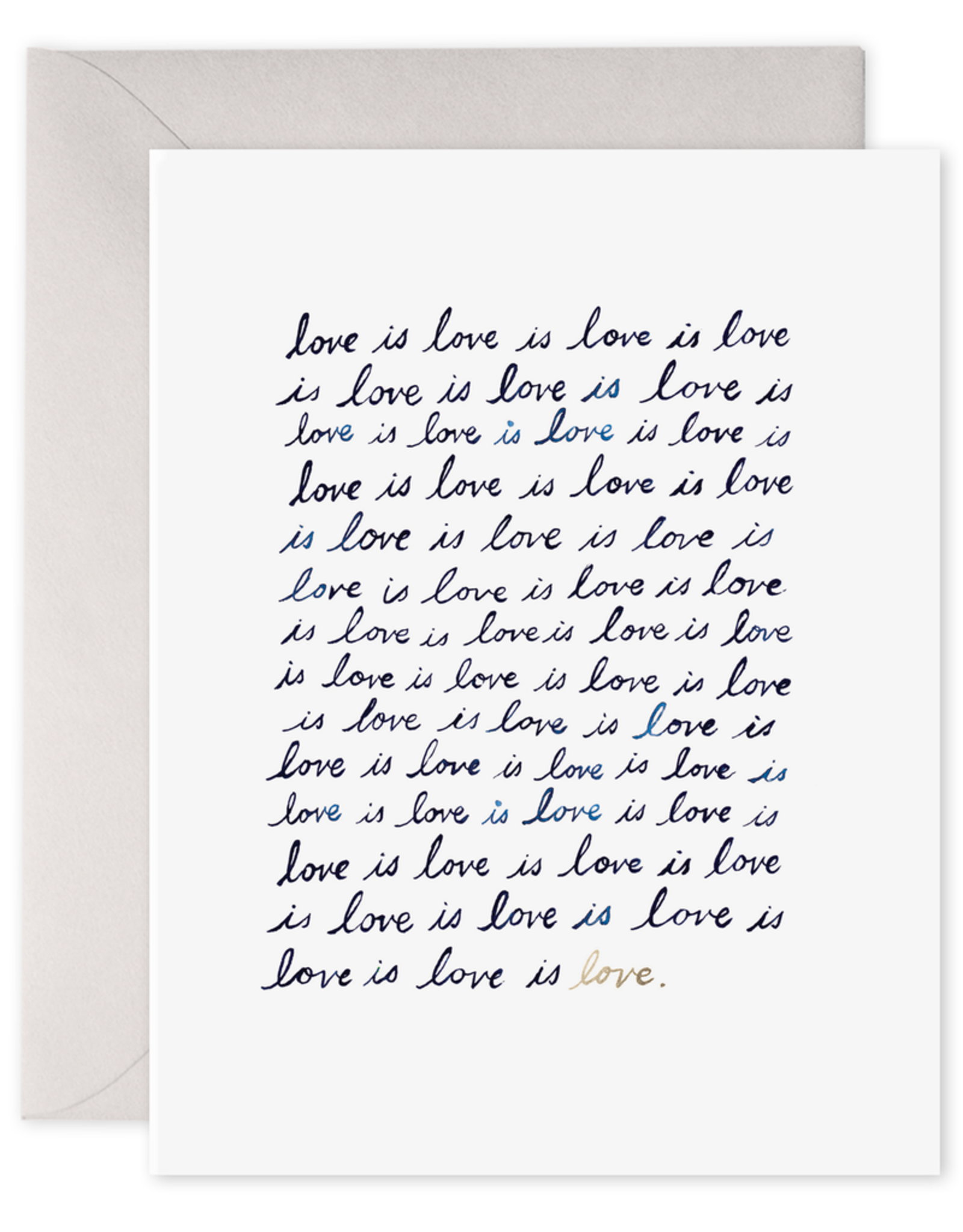 """Love Is Love"" Greeting Card"