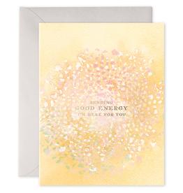 """""""Sending Good Energy"""" Greeting Card"""