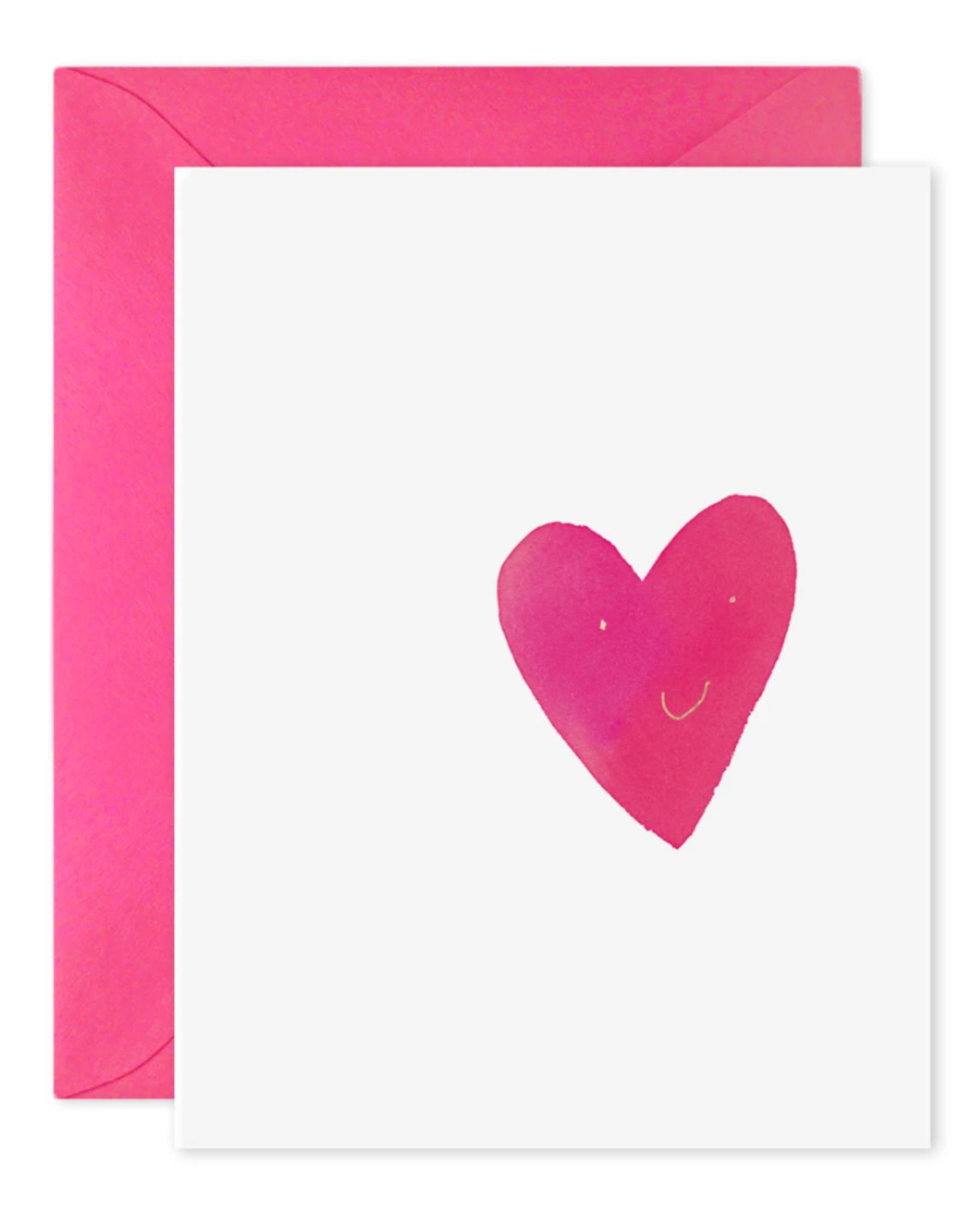 """Happy Heart"" Greeting Card"