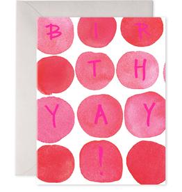 """""""Birthday Dots"""" Birthday Card"""